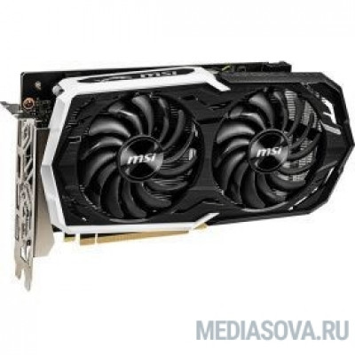 Видеокарта MSI GeForce GTX 1660 ARMOR 6G OC <GTX1660, Retail>