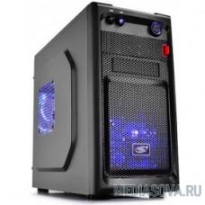 Deepcool SMARTER LED mATX/mini-ITX, Black/Blue LED, Window без БП