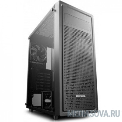 Deepcool E-SHIELD ATX, Стекл. боковая панель, Black, без БП