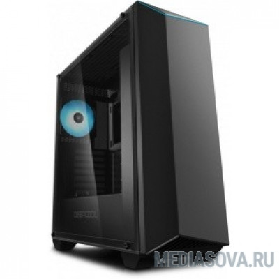 Deepcool EARLKASE RGB V2 ATX, Black, RGB, Стеклянная боковая панель, без БП
