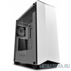 Deepcool EARLKASE RGB WH ATX, White, RGB, Стеклянная боковая панель, без БП