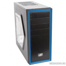 Deepcool TESSERACT SW, ATX, Black-Blue, Window, без БП