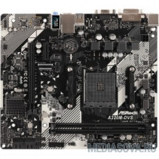 ASRock A320M-DVS R4.0 RTL Socket AM4, AMD A320, DDR4, 1xPCI-E x16, 1xPCI-E x1
