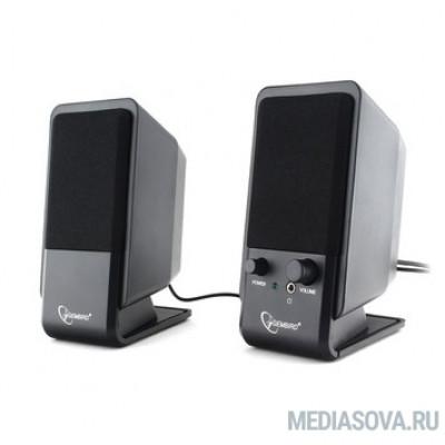 Gembird SPK-510, черный, 6 Вт, рег. громкости, разъём для наушников,USB-питание