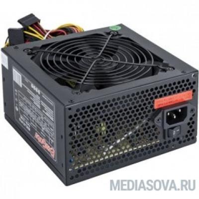 Блок питания Exegate EX221985RUS-S Блок питания 350W Exegate XP350, ATX, SC, black, 12cm fan, 24p+4p, 3*SATA, 2*IDE, FDD + кабель 220V с защитой от выдергивания