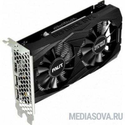 Видеокарта PALIT GeForce GTX1650 4 GB  DUAL  128bit GDDR5 HDMI, 2xDP Ret [NE5165001BG1-1171D]