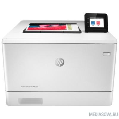HP Color LaserJet Pro M454dw (W1Y45A)  A4,600x600dpi,27(27)стр/мин, ImageREt3600,128Mb, Duplex, 2 trays 50+250,USB/ GigEth, ePrint, AirPrint, PS3,Wi-fi
