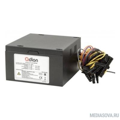 Блок питания FSP 450W ATX Q-Dion QD-450-PNR 80+ 450W, 120mm, 5xSATA, 1xPCI-E, APFC, 80+