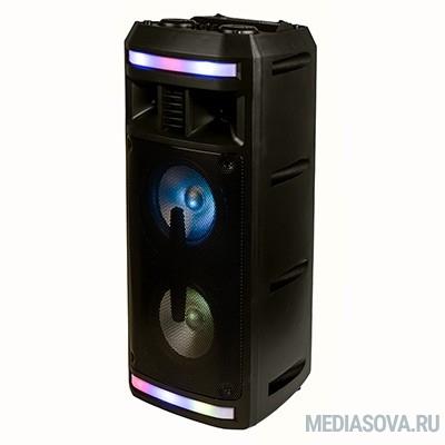 Dialog Oscar AO-12 1.0, 30W RMS, Караоке с микрофоном, BT+FM+USB+SD+LED