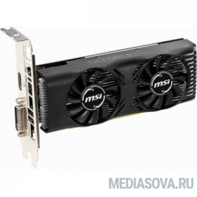 Видеокарта MSI GeForce GTX 1650 4GT LP OC  RTL