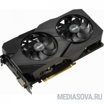Видеокарта ASUS DUAL-RTX2060-O6G-EVO GeForce RTX, 2060, 6144Mb, 192bit, GDDR6, 1365/14000 DVIx1/HDMIx2/DPx1/HDCP