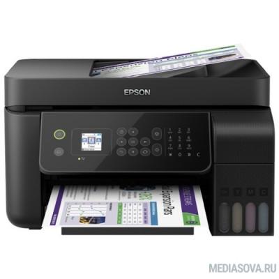 Epson L5190  (C11CG85405) принтер/копир/сканер/факс, A4, 12/4.5ppm, 5760x1440, Wi-Fi, Ethernet RJ-45, USB