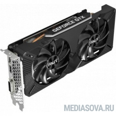 Видеокарта PALIT GeForce GTX1660 DUAL OC RTL 6G   [NE51660S18J9-1161A]