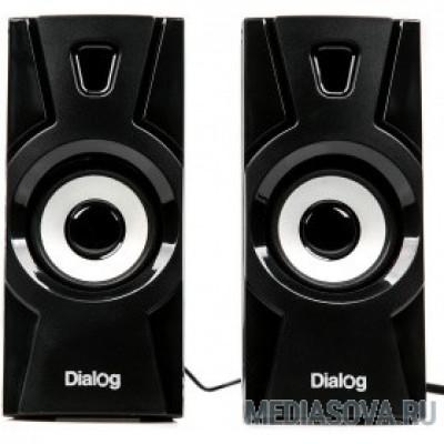 Dialog Stride AST-10UP - акустические колонки 2.0, 10W RMS, черные, питание от USB