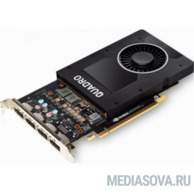 Видеокарта PNY Quadro P2200 5GB OEM [VCQP2200BLK-1]