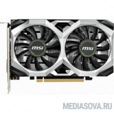 MSI GeForce GTX 1650 VENTUS XS 4G  Ret GeForce GTX 1650, 4096Mb, 128bit, GDDR5, 1485/8000 DVIx1/HDMIx1/DPx1/HDCP