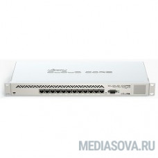 MikroTik CCR1016-12G Cloud Core Router Маршрутизатор (12) 10/100/1000 Mbit/s Gigabit Ethernet with Auto-MDI/X; Tilera Tile-Gx16; 2GB RAM; OS: L6(R2)