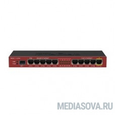 MikroTik RB2011iLS-IN RouterBOARD 2011iLS Маршрутизатор 5UTP/WAN 10/100Mbps + 5UTP/WAN 10/100/1000Mbps  + 1SFP