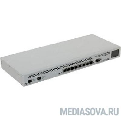MikroTik CCR1036-8G-2S+EM Маршрутизатор Tile-Gx36 CPU (36-cores, 1.2Ghz per core), 8GB RAM, 2xSFP+ cage, 8xGbit LAN, RouterOS L6, 1U rackmount case, PSU, r2