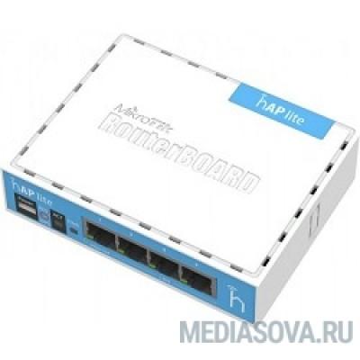 MikroTik RB941-2nD hAP lite classic Беспроводной маршрутизатор MikroTik RouterBOARD hAP lite classic case