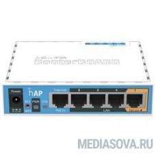 MikroTik hAP RB951Ui-2nD (hAP)   RouterBOARD hAP Беспроводная точка доступа