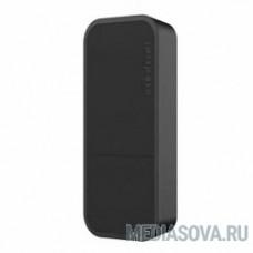 MikroTik wAP RBwAP2nD-BE wAP (Black)  Беспроводная точка доступа 1UTP 10/100Mbps,  802.11b/g/n, 2dBi
