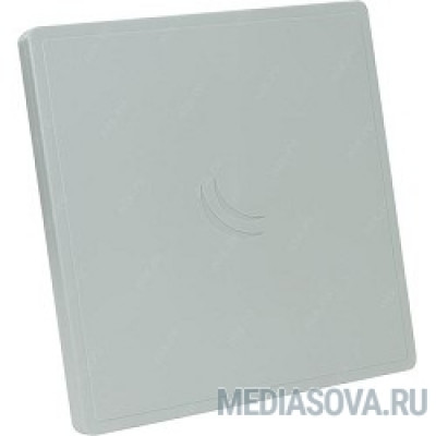 MikroTik RB911G-5HPacD-QRT Радиомаршрутизатор (24dBi 11 degree Dual Chain 5Ghz 802.11ac integrated antenna, 720MHz CPU, 128MB RAM, Gigabit Ethernet, POE, PSU, pole mount, RouterOS L4)