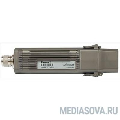 MikroTik RBMetalG-52SHPacn Metal 52 ac Точка доступа 2.4/5GHz 802.11a/b/g/n/ac wireless, RouterOS L4, metal case, mounting loops, PoE, PSU, Omni antenna