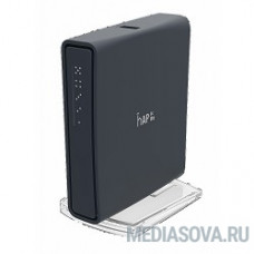 MikroTik RB952Ui-5ac2nD-TC hAP ac lite tower case маршрутизатор  650MHz CPU, 64MB RAM, 5xLAN, 2.4/5Ghz, 802.11b/g/n/ac