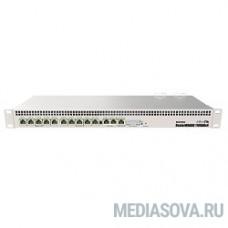MikroTik RB1100AHx4 Маршрутизатор 7.5 Гбит/с, 13x 1G Ethernet, 1х microSD, 802.3at