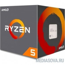 CPU AMD Ryzen 5 2600X BOX 4.25GHz, 19MB, 95W, AM4, with Wraith Stealth cooler