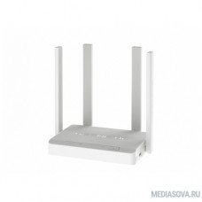 Keenetic Duo (KN-2110) Маршрутизатор беспроводной, для подключения по VDSL/ADSL с Wi-Fi AC1200, усилителями приема/передачи, управляемым коммутатор