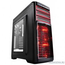 Deepcool KENDOMEN RD, ATX, Black-Red, Window, без БП