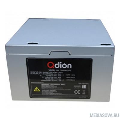 Блок питания FSP 650W ATX Q-Dion QD-650-PNR 80+ 650W, 120mm, 5xSATA, 2xPCI-E, APFC, 80+