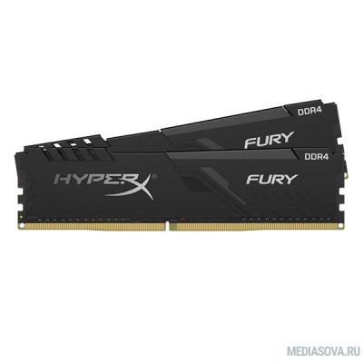 Оперативная память  Kingston DDR4 DIMM 32GB Kit 2x16Gb HX430C15FB3K2/32 PC4-24000, 3000MHz, CL15, HyperX