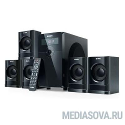 SVEN HT-200 черный 5.1, 5х 20Вт + 12Вт , FM-тюнер, USB/SD, дисплей, пульт ДУ