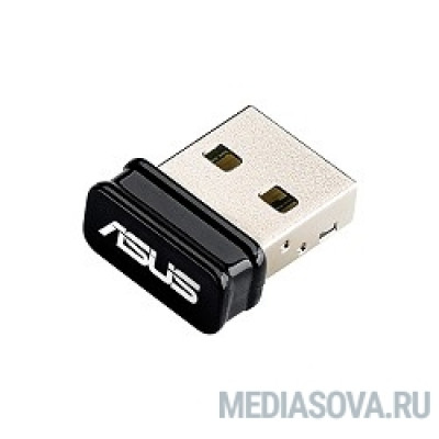 ASUS USB-N10 NANO USB2.0 802.11n 150Mbps nano size