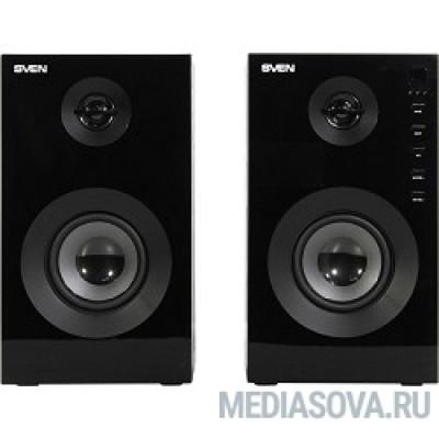 SVEN SPS-615 черный 220 В, 50 Гц, Bluetooth, дерево (MDF), 2,85кг