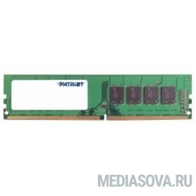 Оперативная память  Patriot DDR4 DIMM 4GB PSD44G240041 PC4-19200, 2400MHz