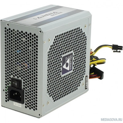 Блок питания Chieftec 700W OEM (GPC-700S) ATX v.2.3,КПД > 80%, A.PFC, 2x PCI-E (6+2-Pin), 6x SATA