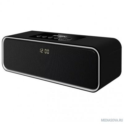 SVEN PS-175, черный (10 Вт, Bluetooth, FM, USB, microSD, LED-дисплей, часы, 2000мА*ч)