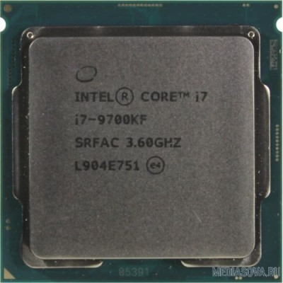 Процессор CPU Intel Core i7-9700KF Coffee Lake OEM