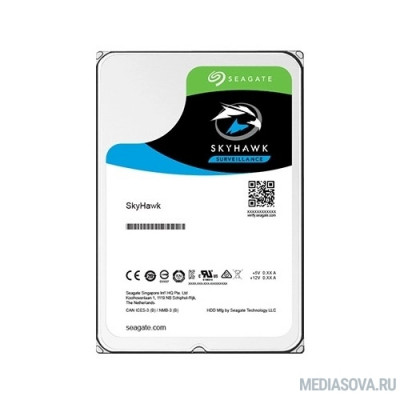 Жесткий диск 6TB Seagate SkyHawk (ST6000VX001) SATA 6 Гбит/с, 5400 rpm, 256 mb buffer, для видеонаблюдения
