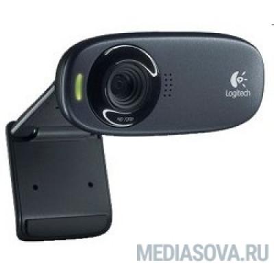 960-001065 Logitech HD Webcam C310, USB 2.0, 1280*720, 5Mpix foto, Mic, Black
