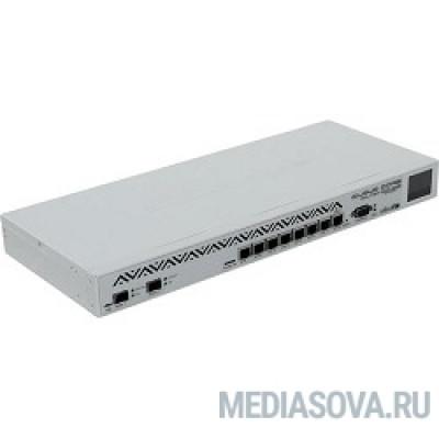 MikroTik CCR1036-8G-2S+ Cloud Core Router 1036-8G-2S+ with Tilera Tile-Gx36 CPU (36-cores, 1.2Ghz per core), 4GB RAM, 2xSFP+ cage, 8xGbit LAN, RouterOS L6, 1U rackmount case, PSU, r2