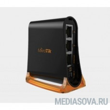 MikroTik RB931-2nD hAP mini Wi-Fi мини-роутер 2.4 ГГц, 2х LAN, 1х WAN