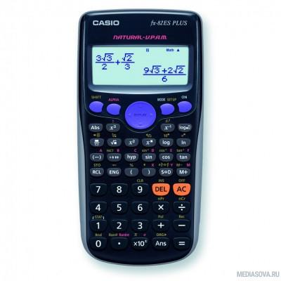 Калькулятор научный Casio FX-82ES PLUS черный/темно-синий 12-разр. [811451]