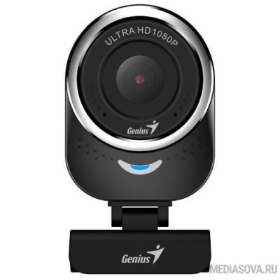 Genius QCam 6000 Black 1080p Full HD, вращается на 360°, универсальное крепление, микрофон, USB [32200002400]