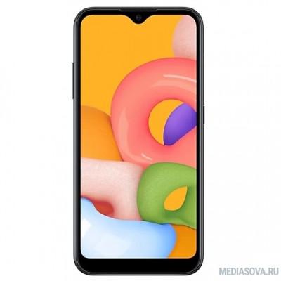 Samsung Galaxy A01 (2020) черный [SM-A015FZKDSER]