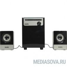 SVEN MS-110 черный Воспроизведение музыки с USB flash и SD card памяти